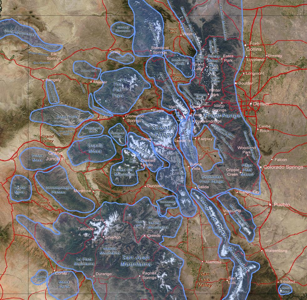 Colorado Aerial Photographs Index